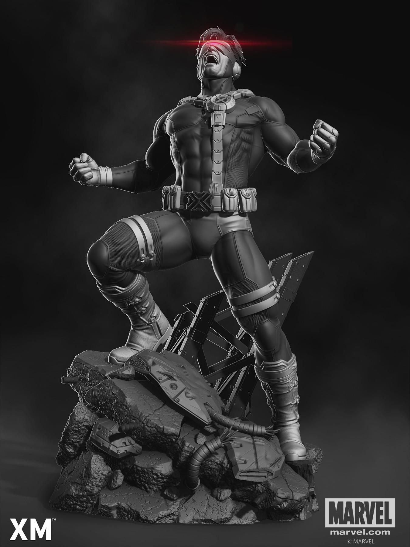 Rafael mustaine cyclops promo render 2