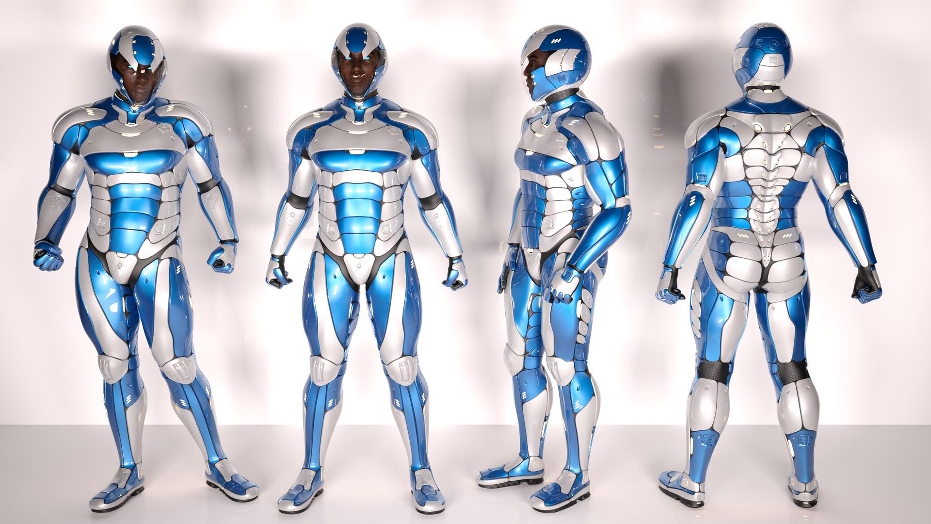 Frostburn - final costume redesign.