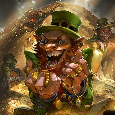 Rudy siswanto leprechauns colormed