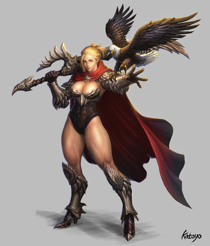 Sanghyun yu eagle knight katoyo