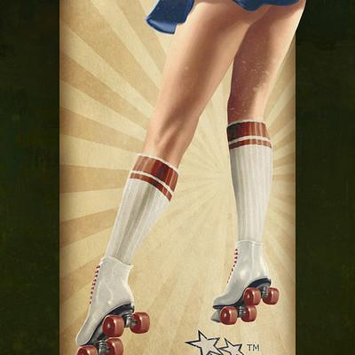 Fernando goni roller skating vintage