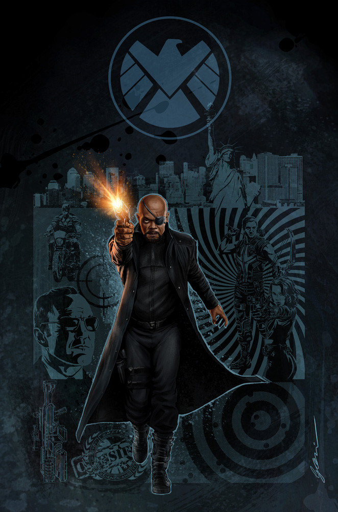 Nick Fury Agent of Shield