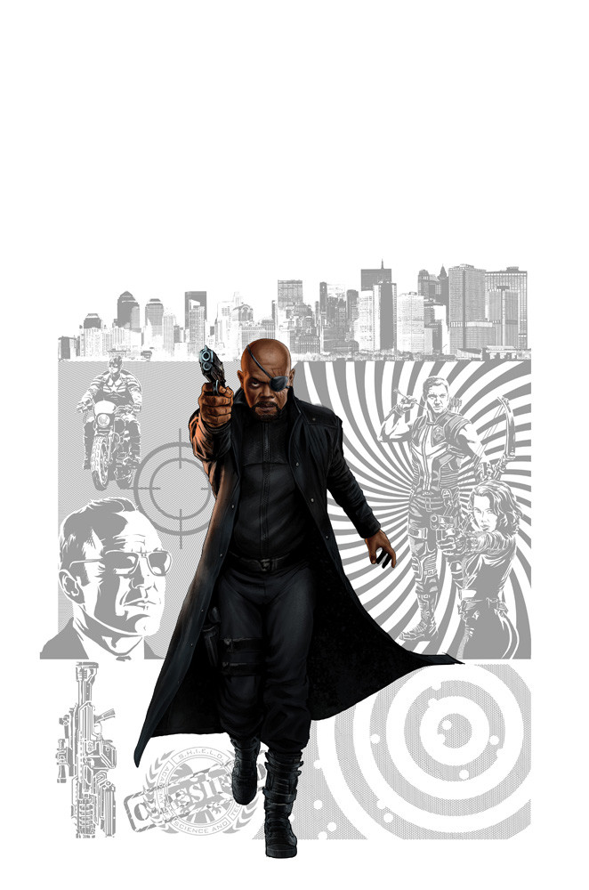 Nick Fury Agent of Shield WIP
