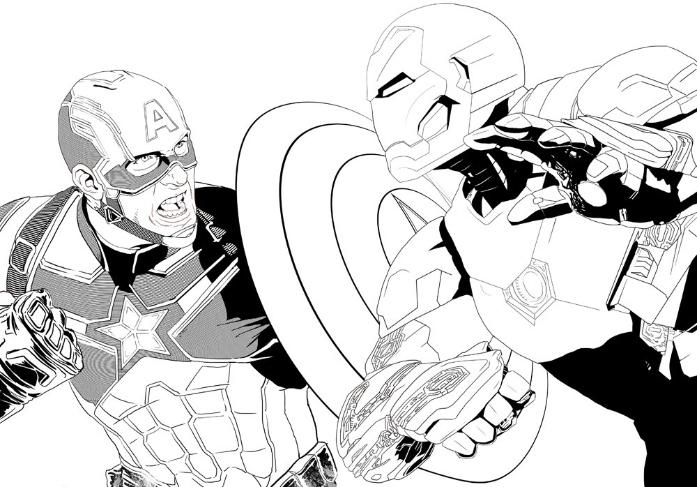 Fernando goni civil war lineart