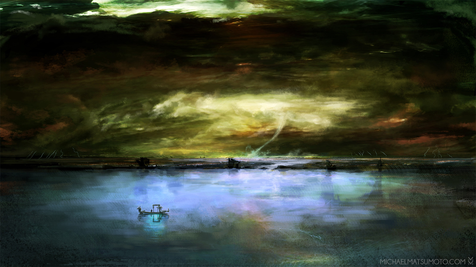 Michael matsumoto drifting through the underworld watermark