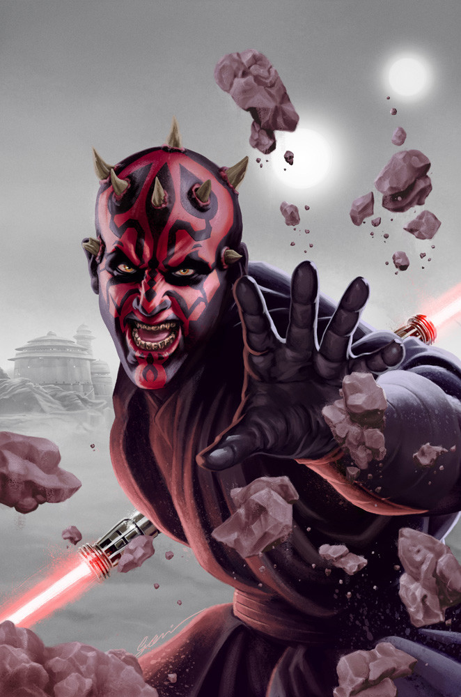 Darth Maul background WIP