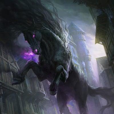 G host lee nightmare horse as 170803