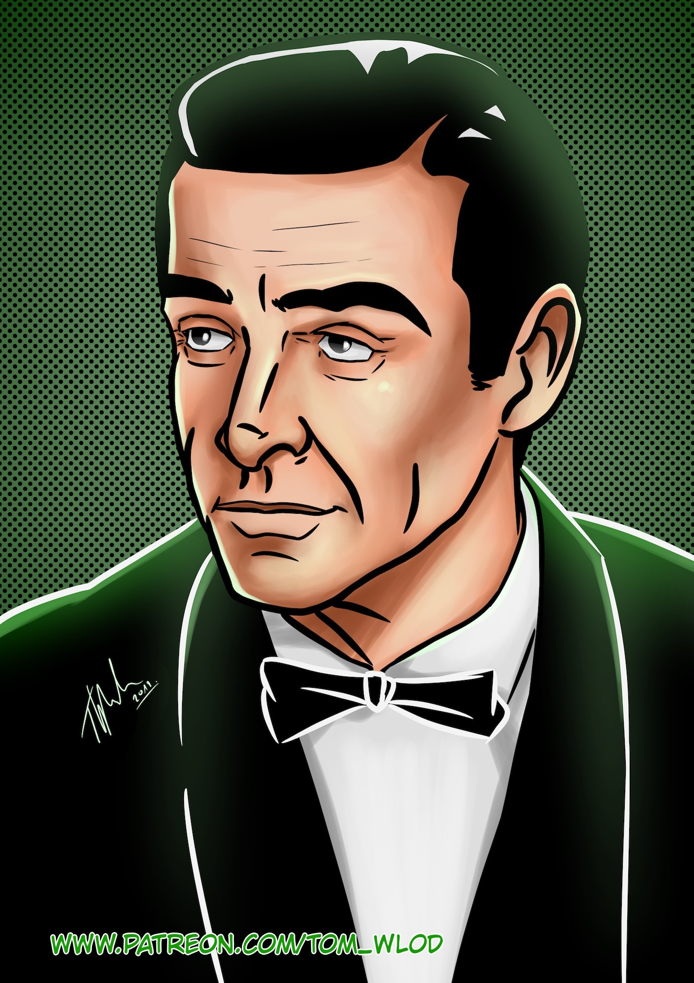 Artstation Bond James Bond Tom Wlod