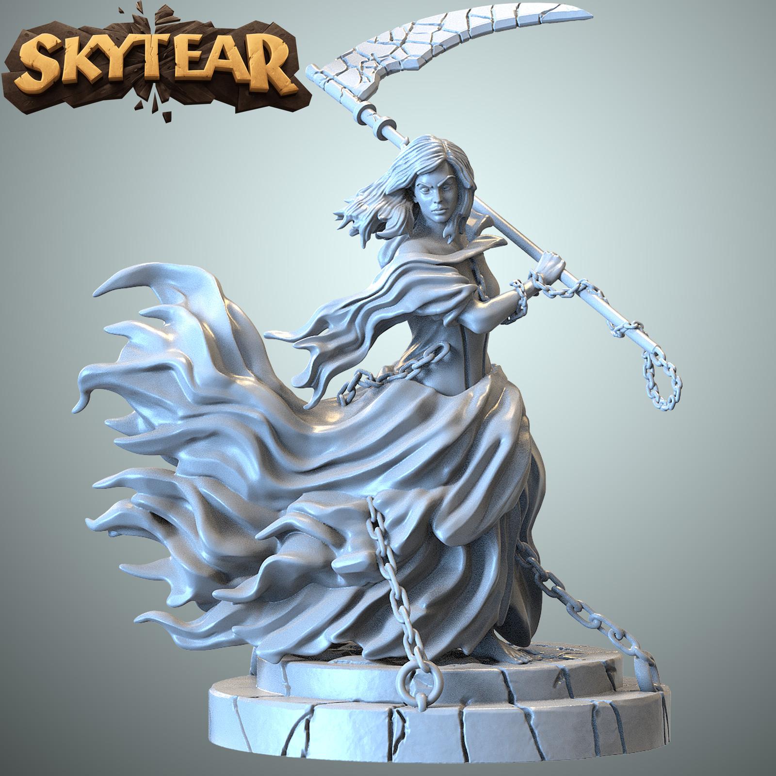 Skytear boardgame miniatures - YAMI