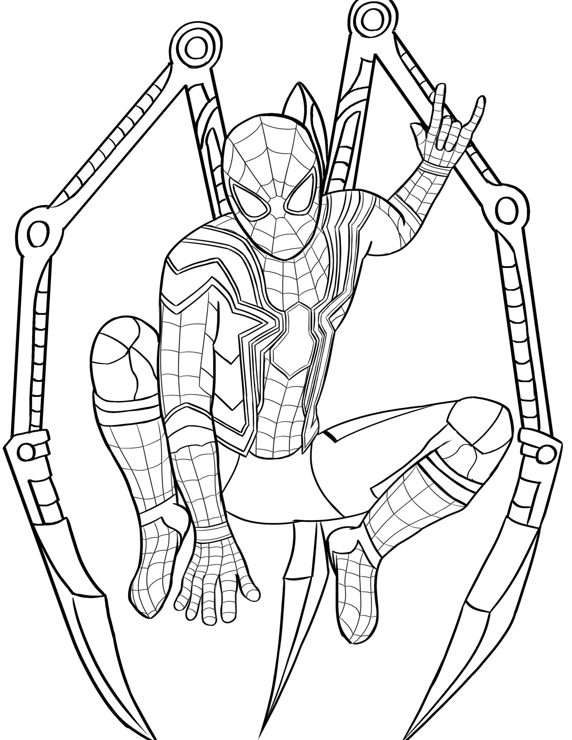Devon Kennedy Iron Spider Infinity