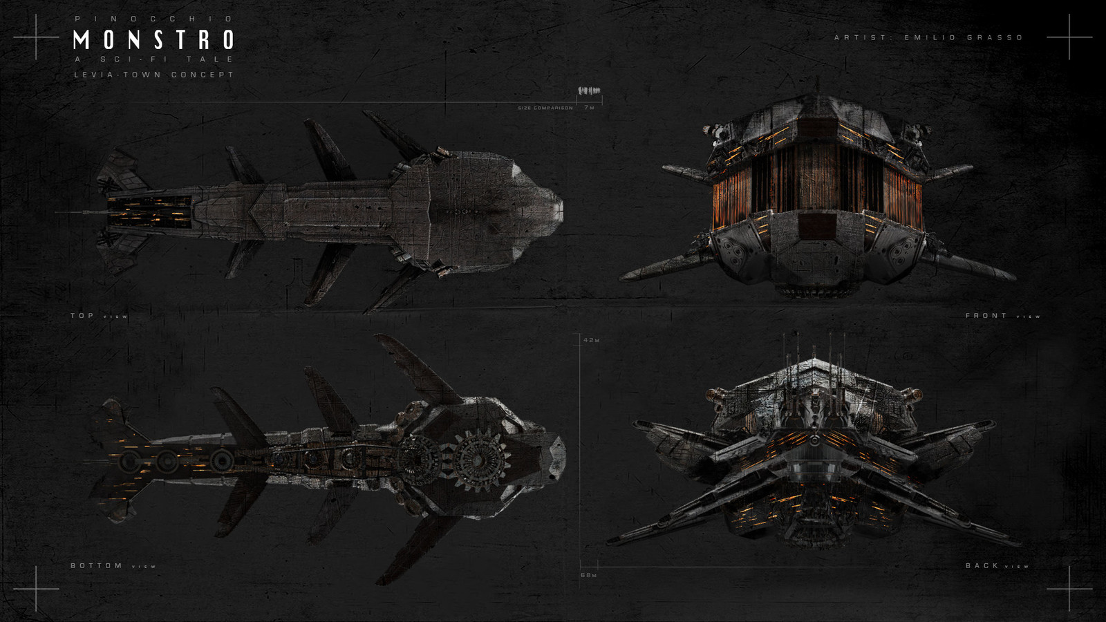 PIN:0Q0 - Monstro SS Concept #2