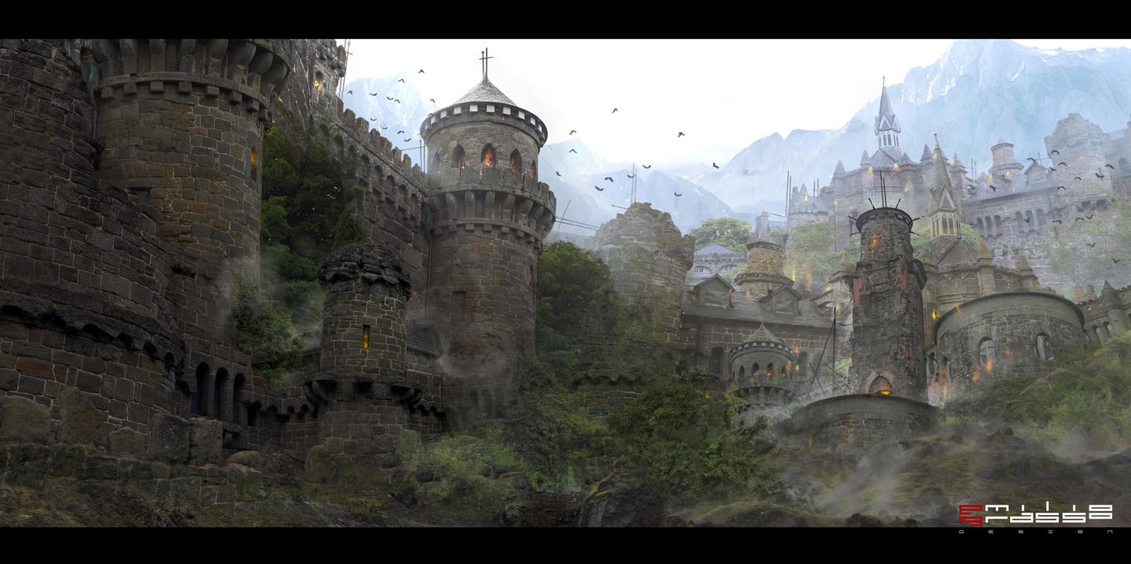 Mana Spring - Matte Painting