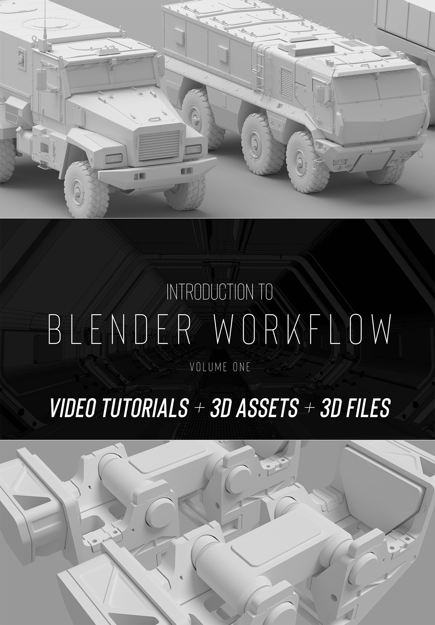 ArtStation - Introduction to Blender workflow (Volume One