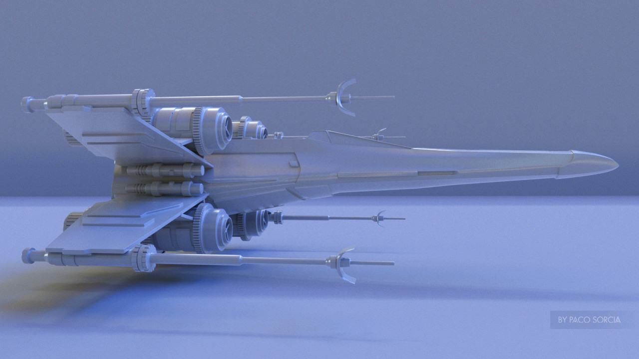 Paco Sorcia Wip X Wing Fighter