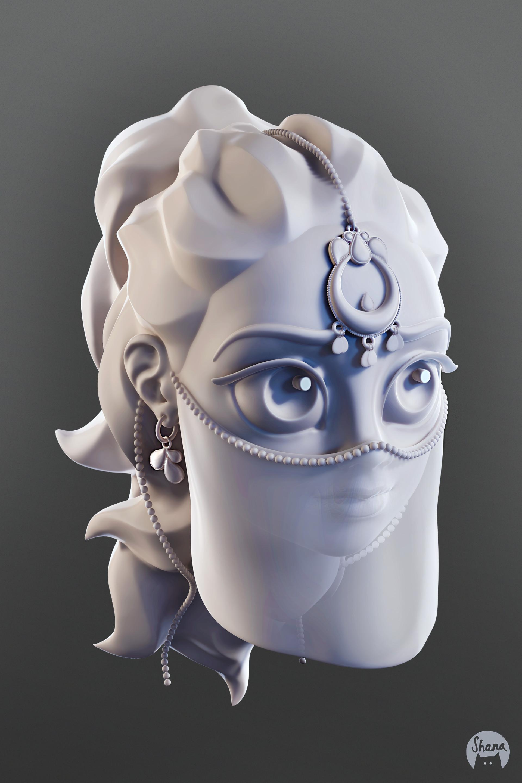 Shana vandercruysse eyes sculpt