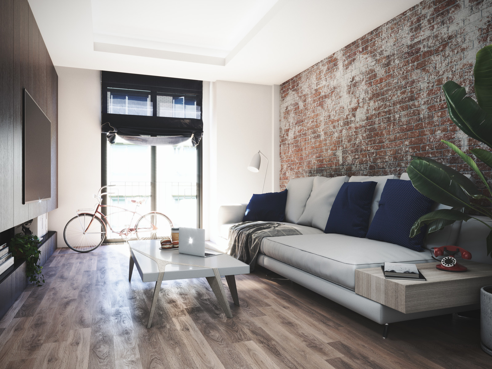 Hipster apartment