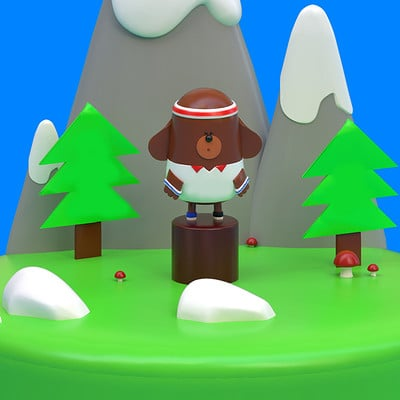 Hey Duggee! sculpt based upon the TV series