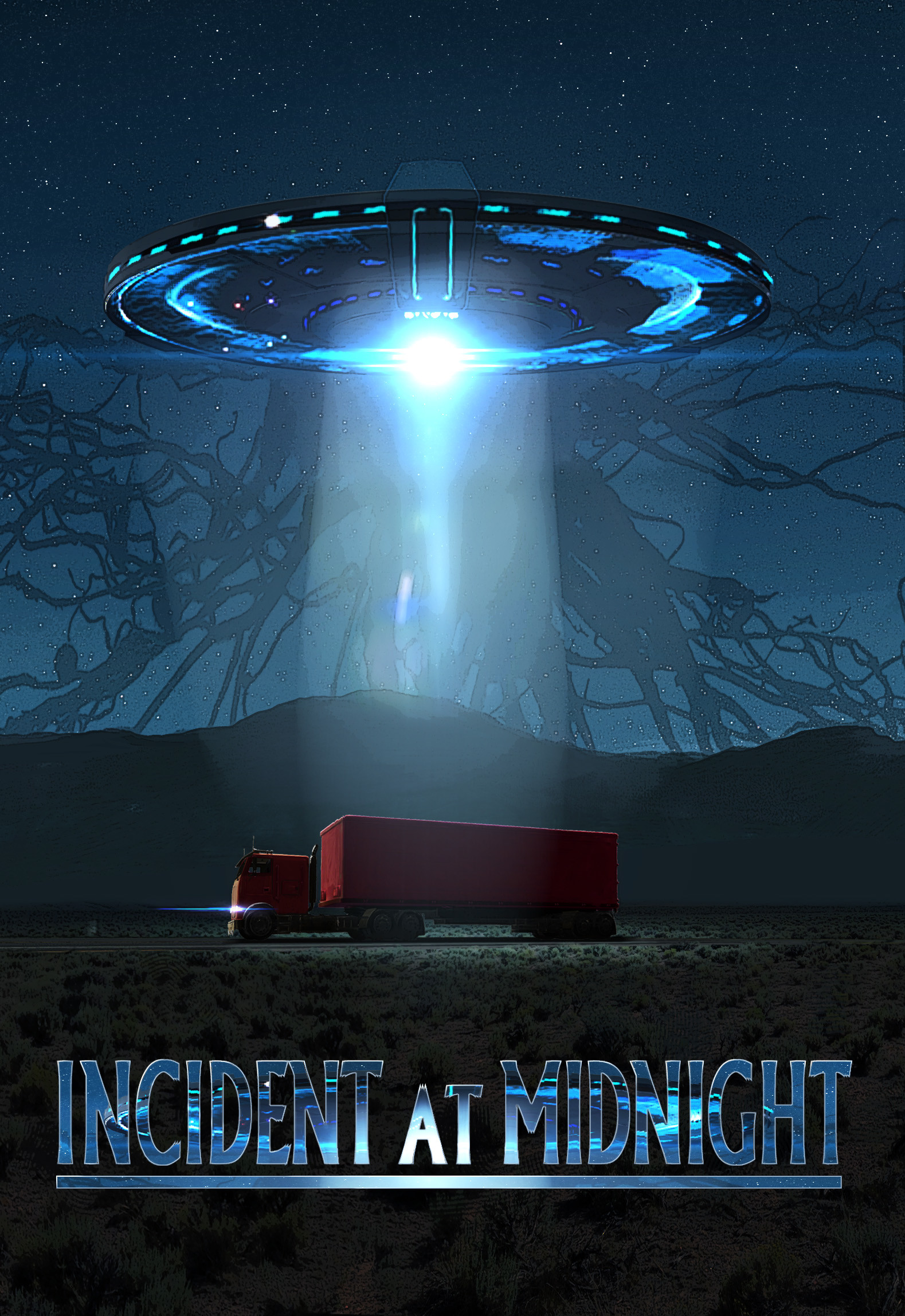 Pablo palomeque incident at midnight poster