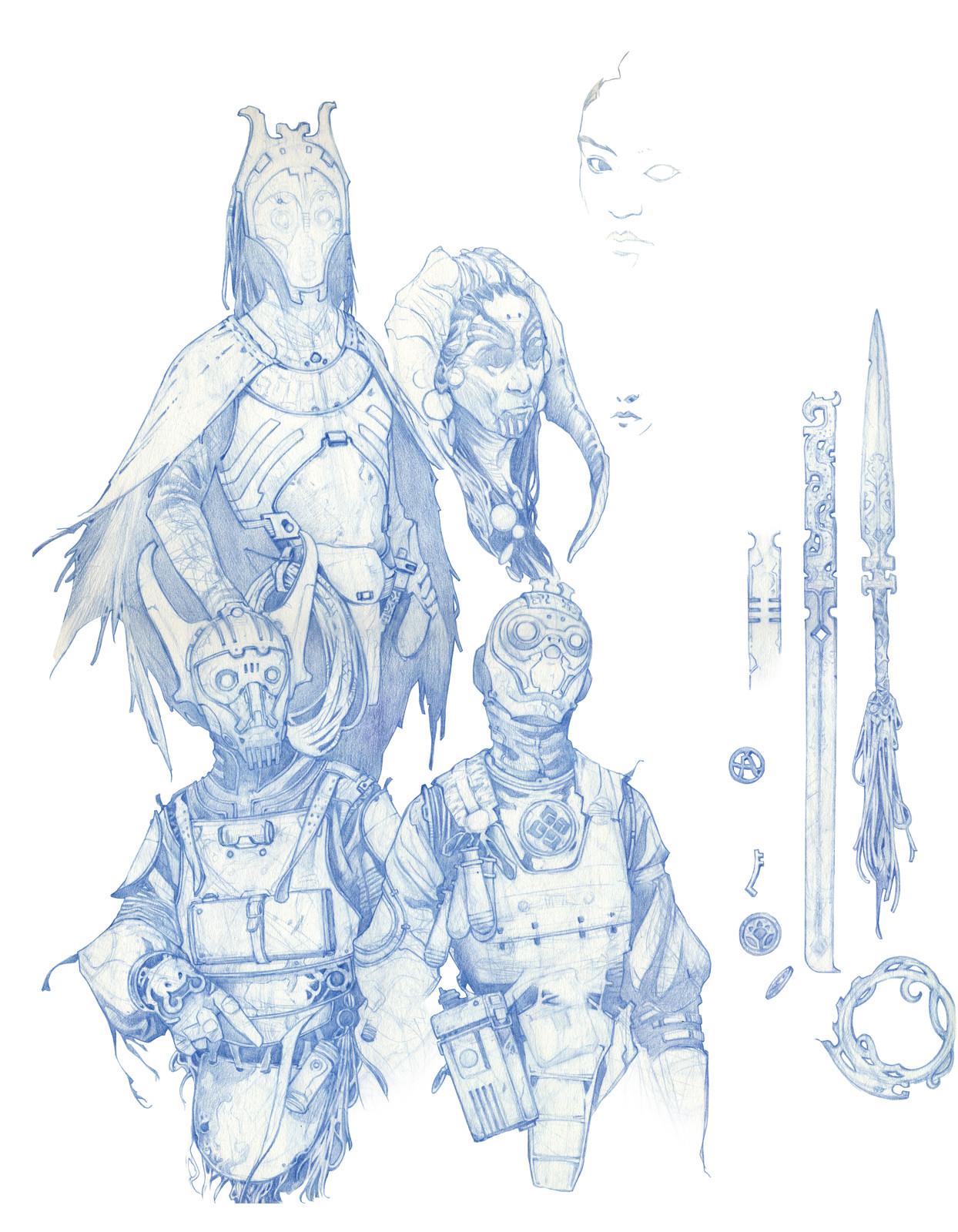 Sketch book page