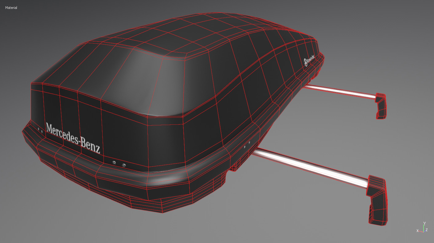 Baked on top of a low poly with wireframe on