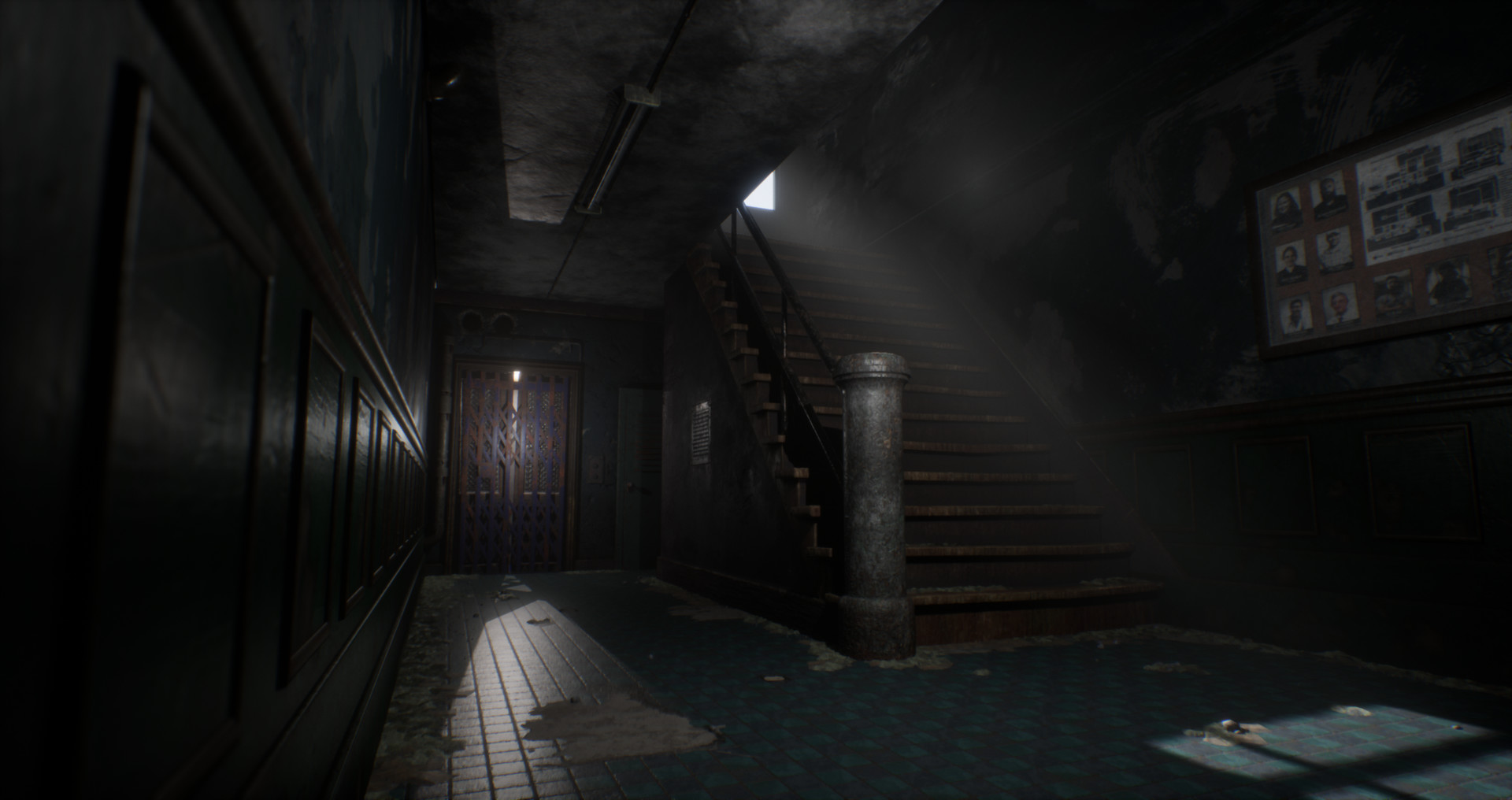 Artstation Abandoned Asylum Rj Hill