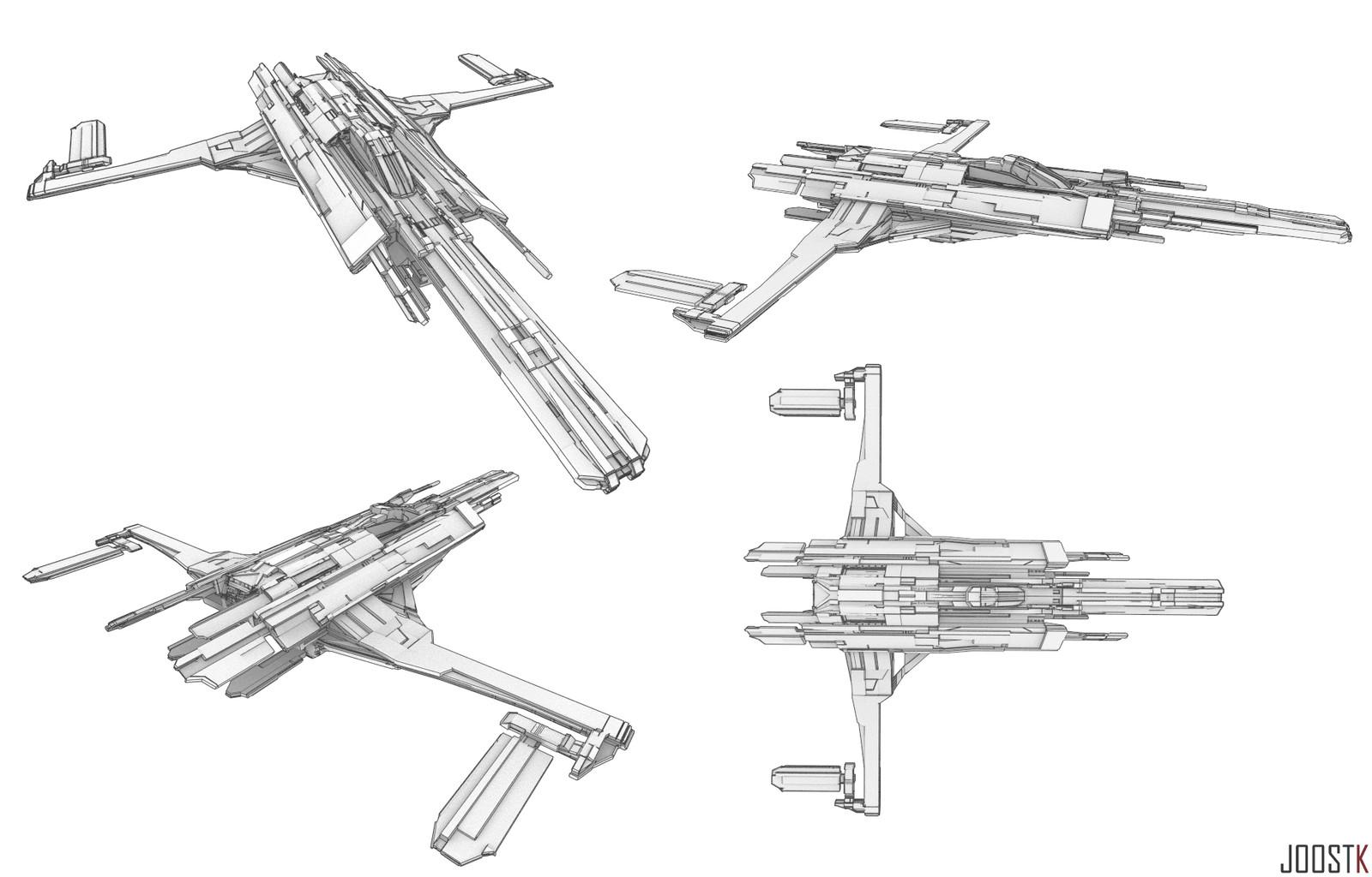 Ship Concept 04 ''Dragoon''