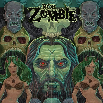 Charles wills robzombie poster flat small