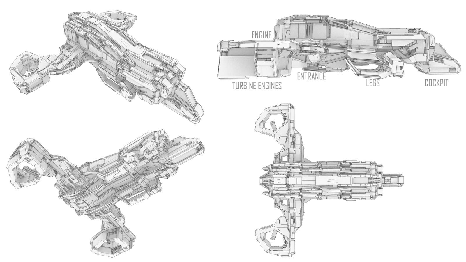 Concept Ship 05 ''Lancer''