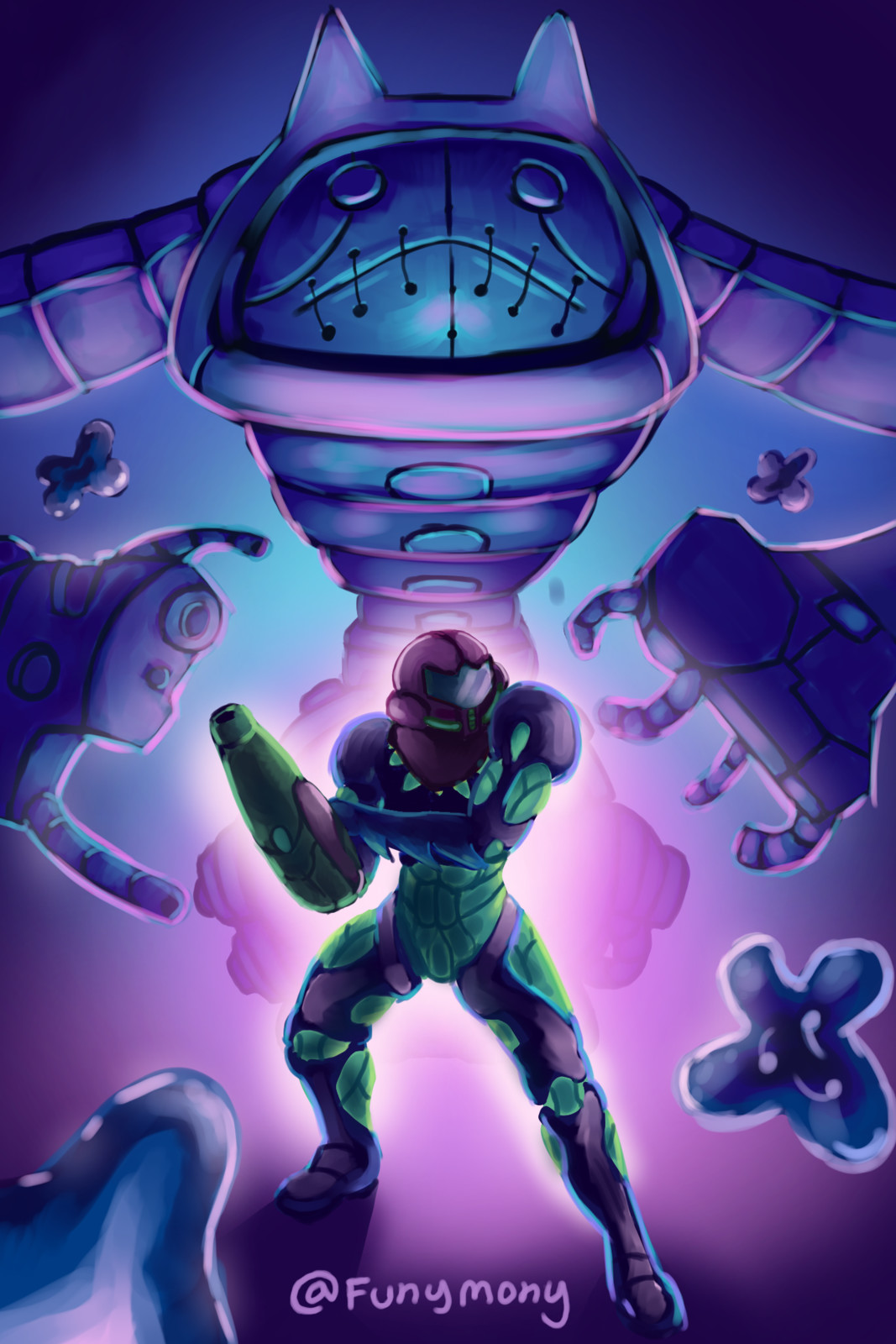 """Metroid Fusion had a boss called """"Nightmare"""" that I really liked. He had a cool design and a creepy aesthetic."""