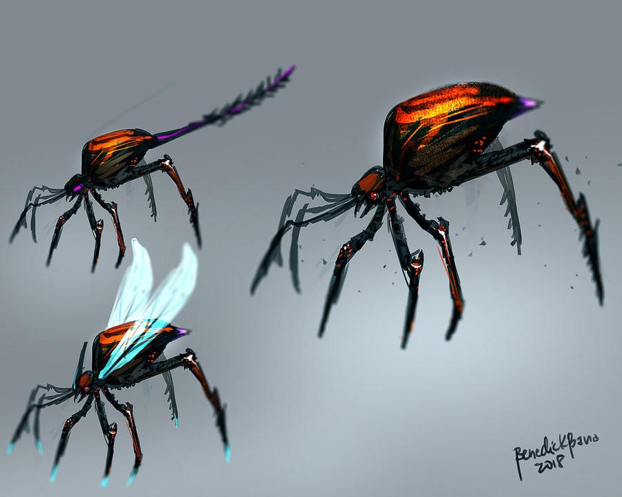Benedick bana arachnid creature design by benedickbana dcisa3c