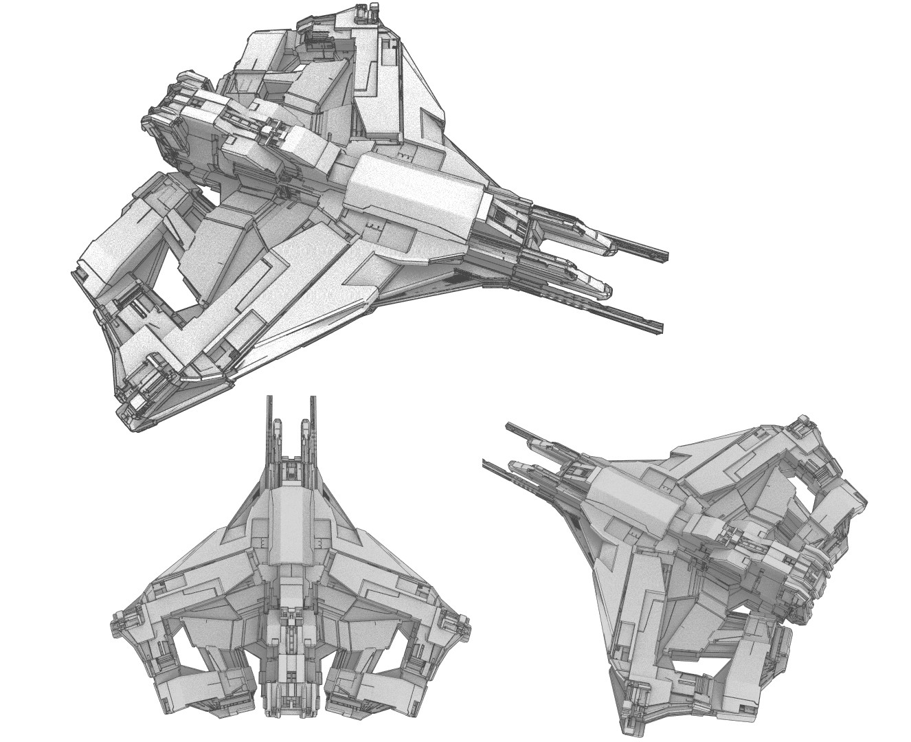 Ship Concept 06 ''Sen''
