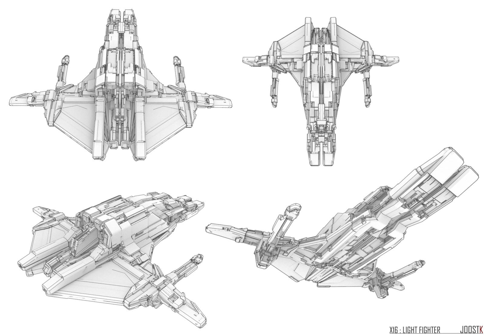 Ship Concept 07 ''X-16''