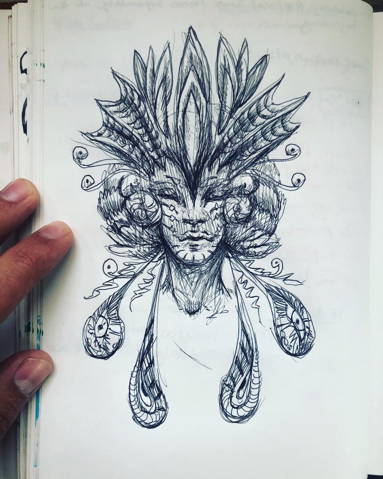 Sketchbook 8-5-18