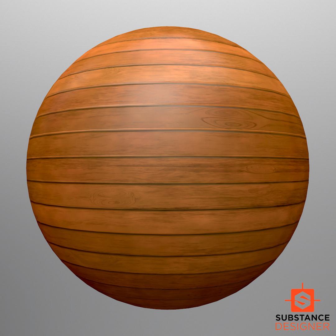 Christoffer sjostrom woodenpanelsphere