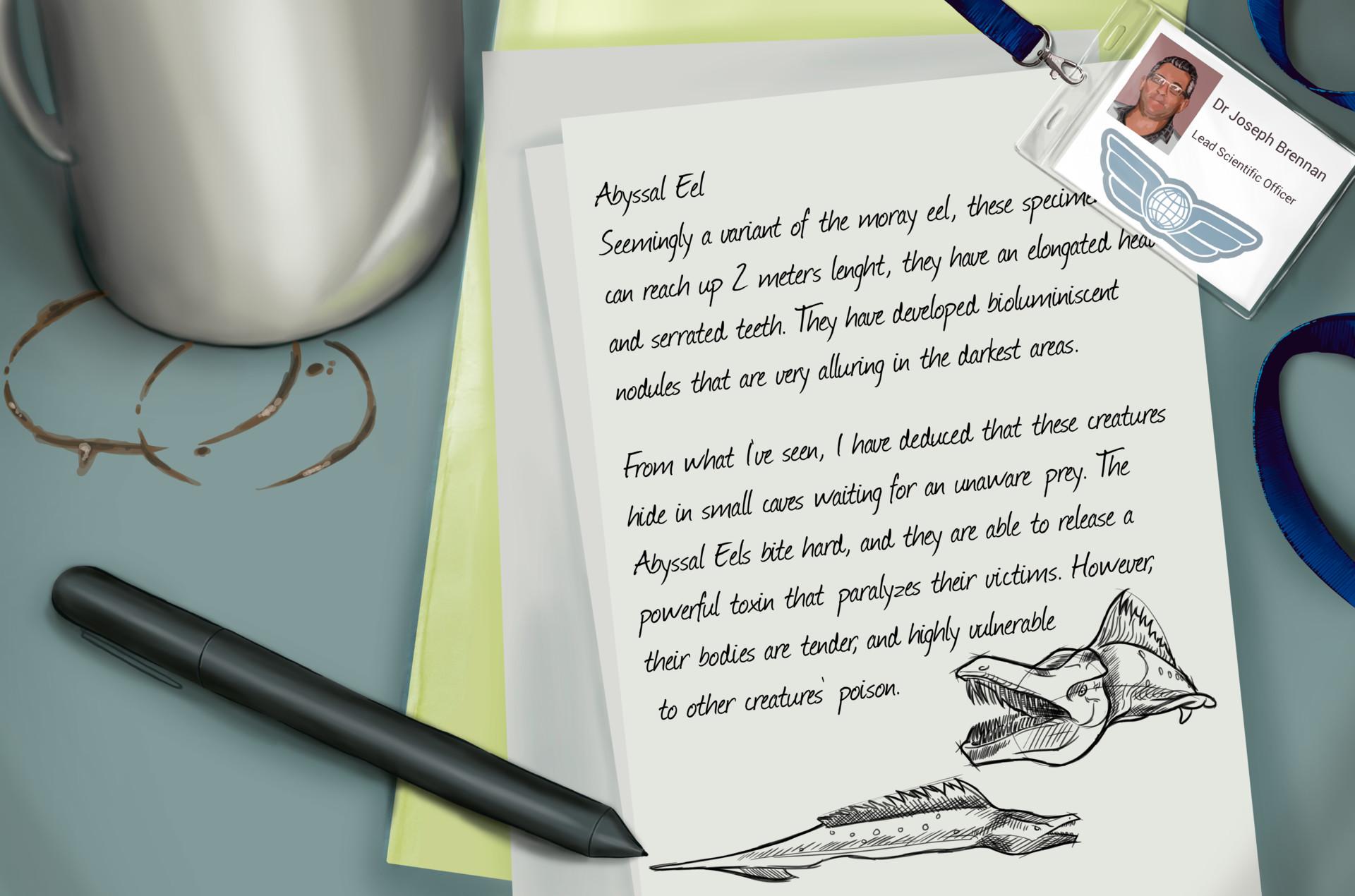 Saida granero parra brennan nota anguila