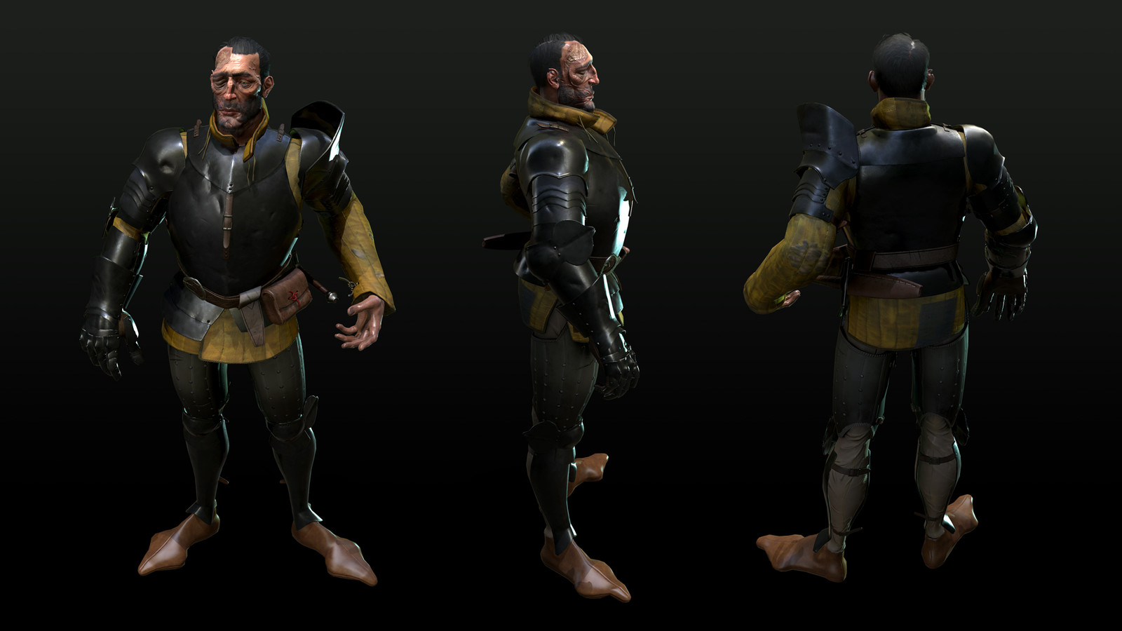 Render of the character