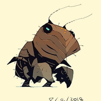 Satoshi matsuura 2018 07 31 cicada man larva s