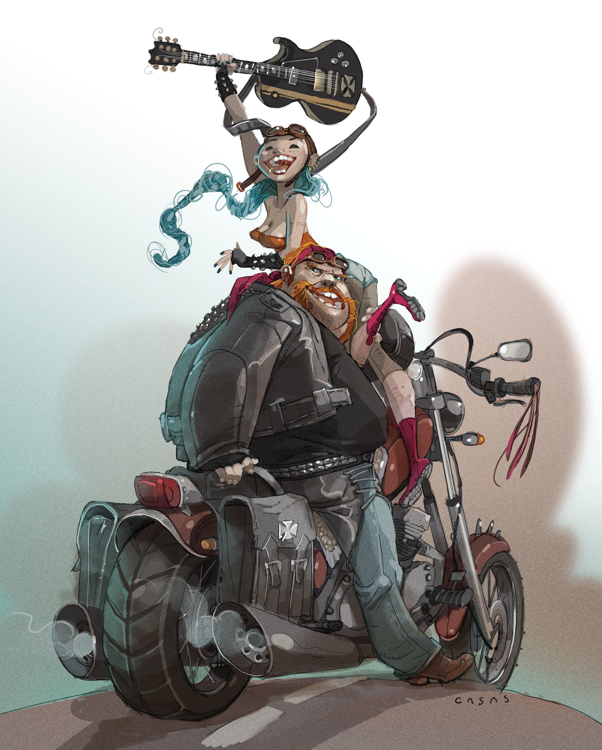 Guillermo casas moto6
