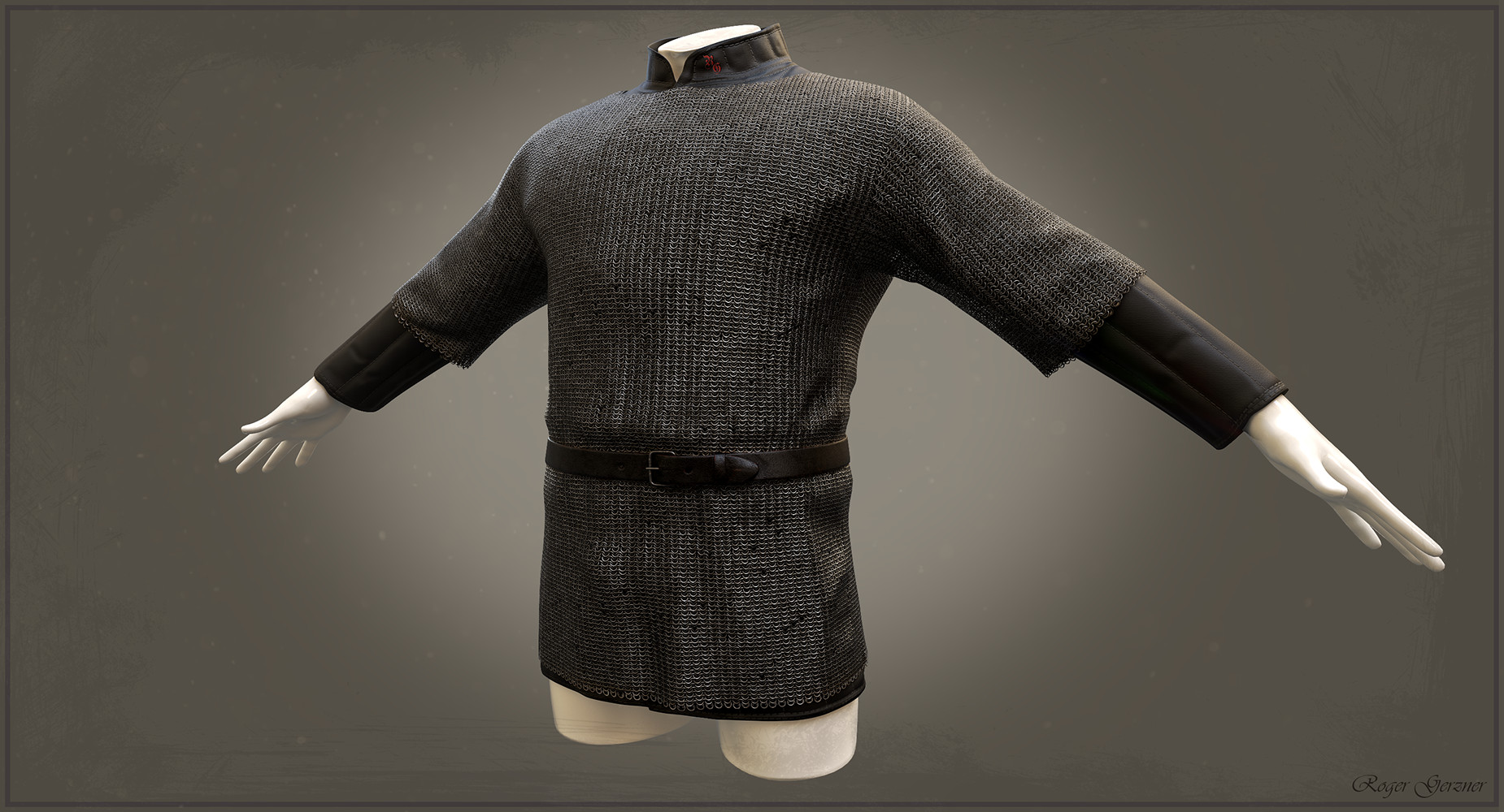Gambeson and Chainmail Hauberken
