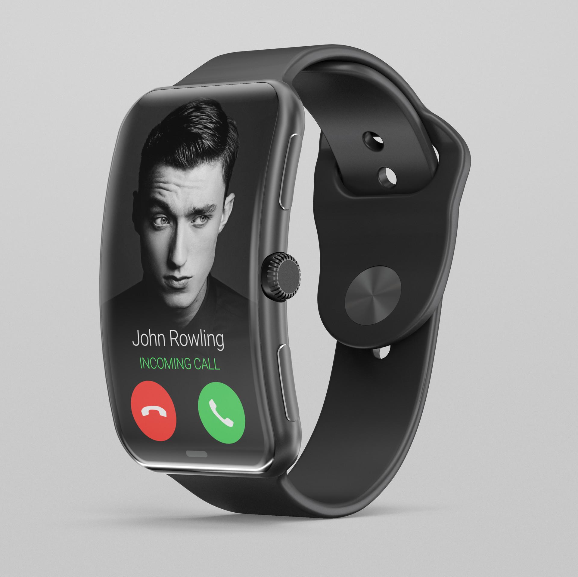 Roman tikhonov apple watch 5 render