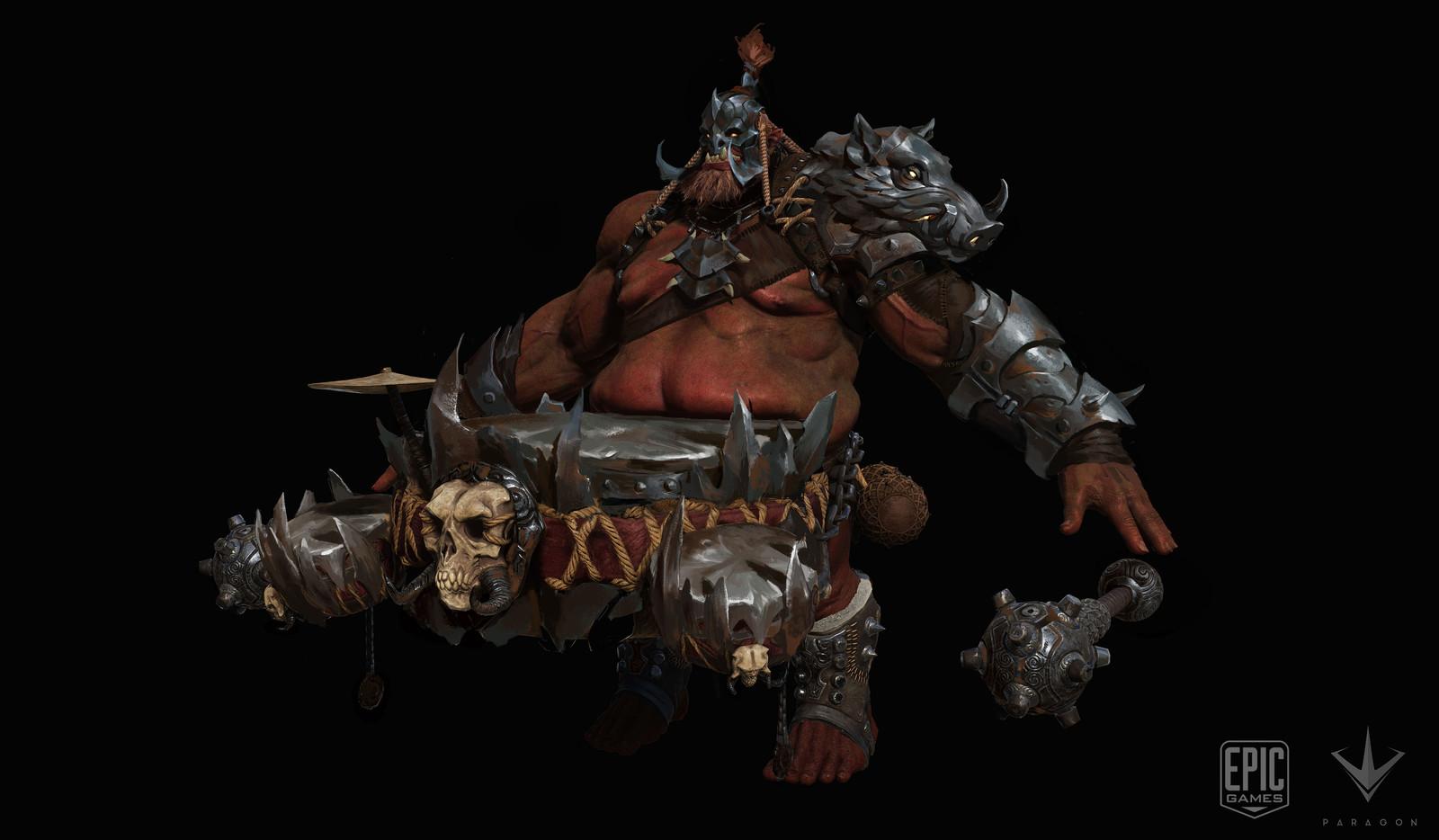 3.Narbash metal boar