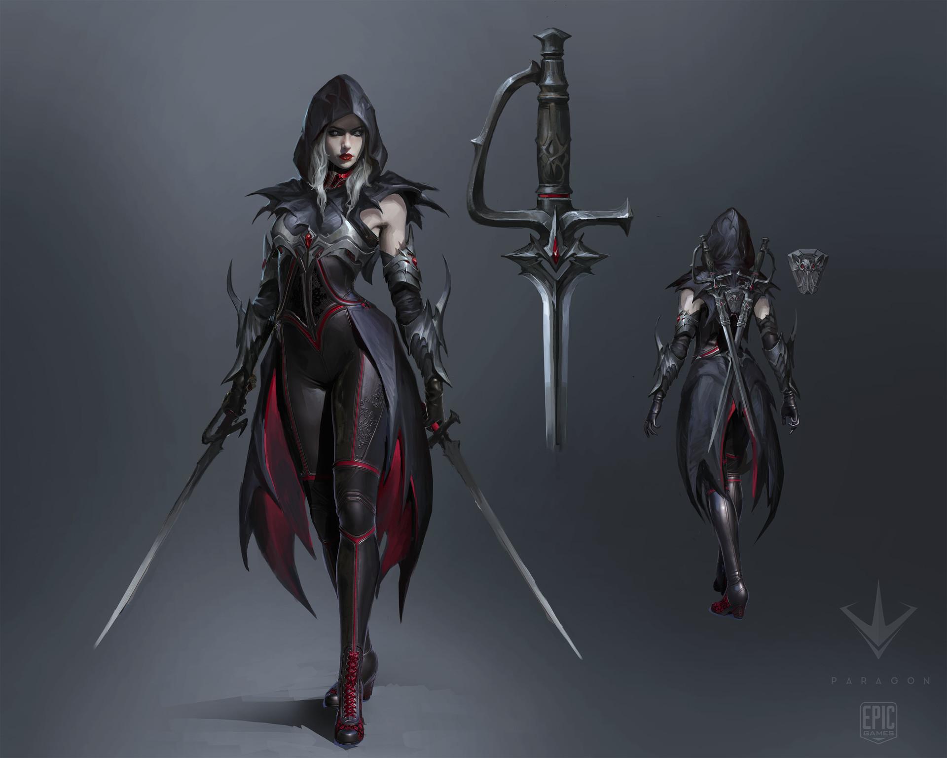 17.Countess vampire rogue