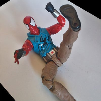 Dean arias scarlet spider now with pants by darktailss danui9g