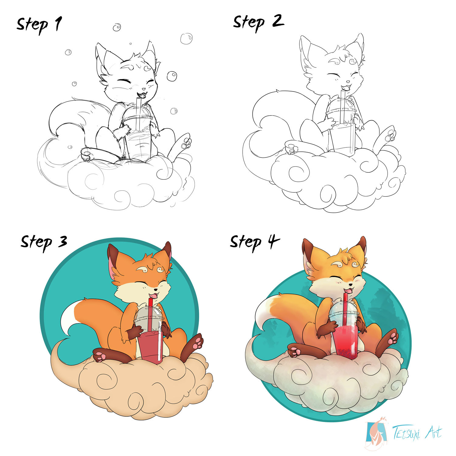 Step 1: Fast Sketch for concepts and idea