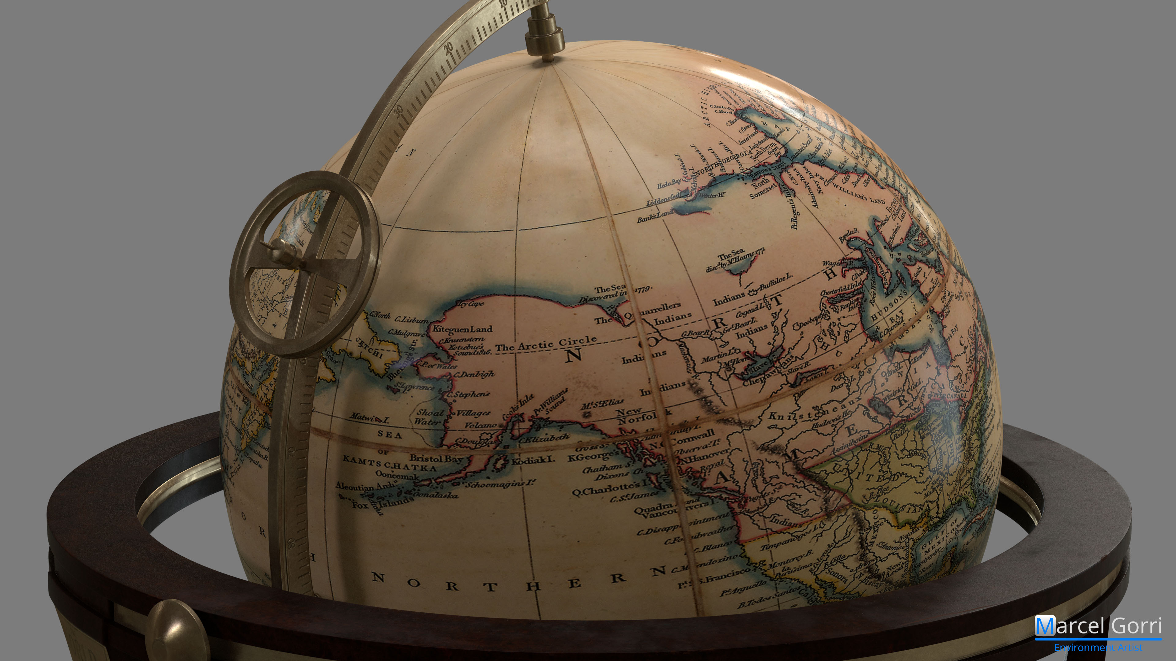 World Globe - Handle