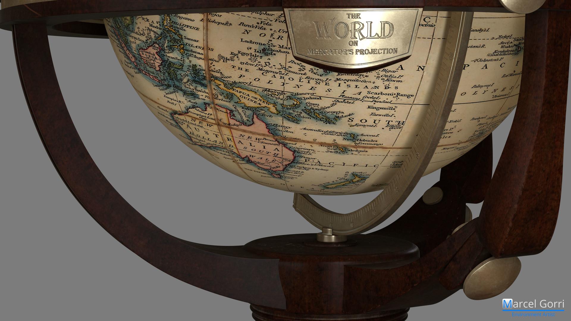 World Globe - Tag