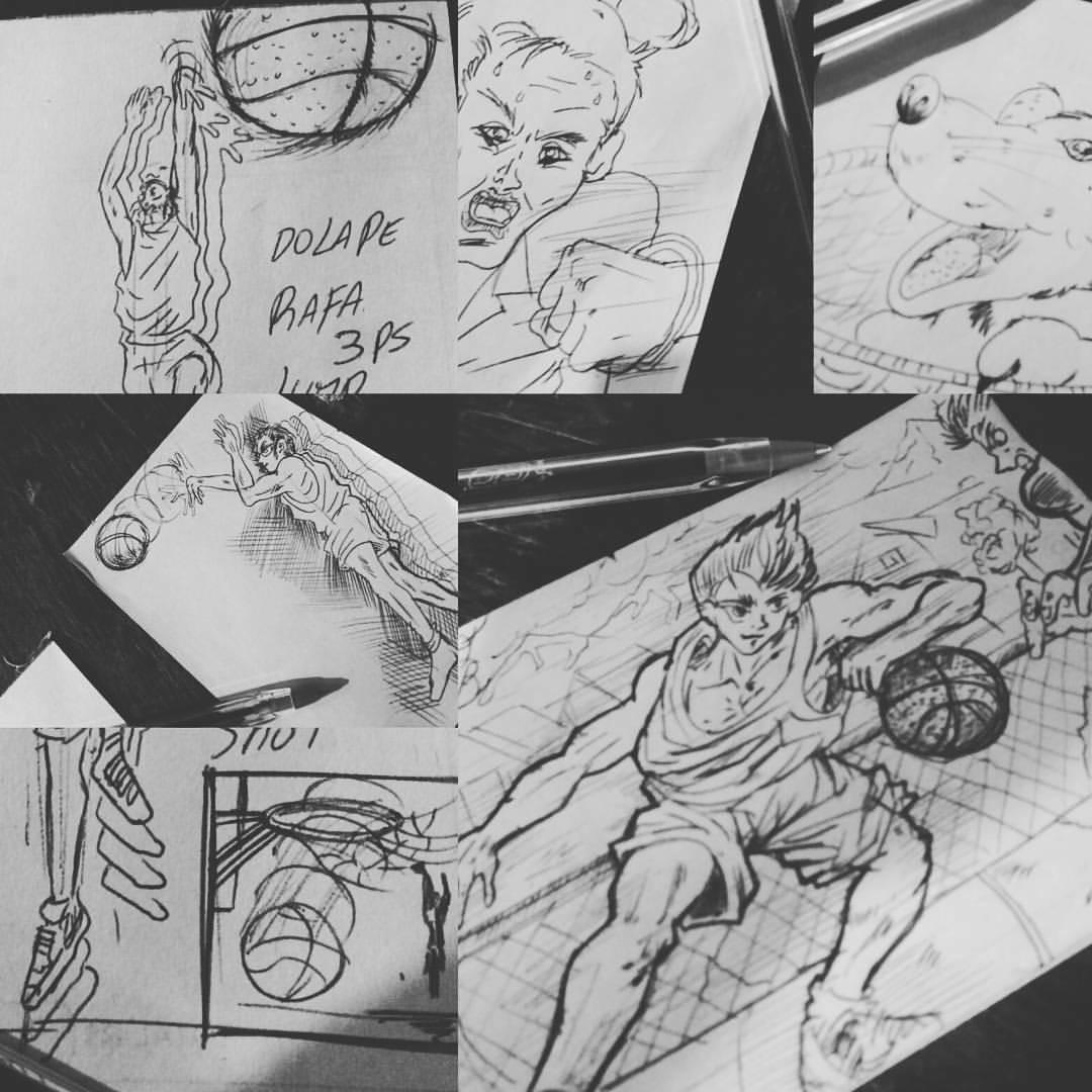 ArtStation - Comics virtual Sketchbook, Marco Lértora Alegría