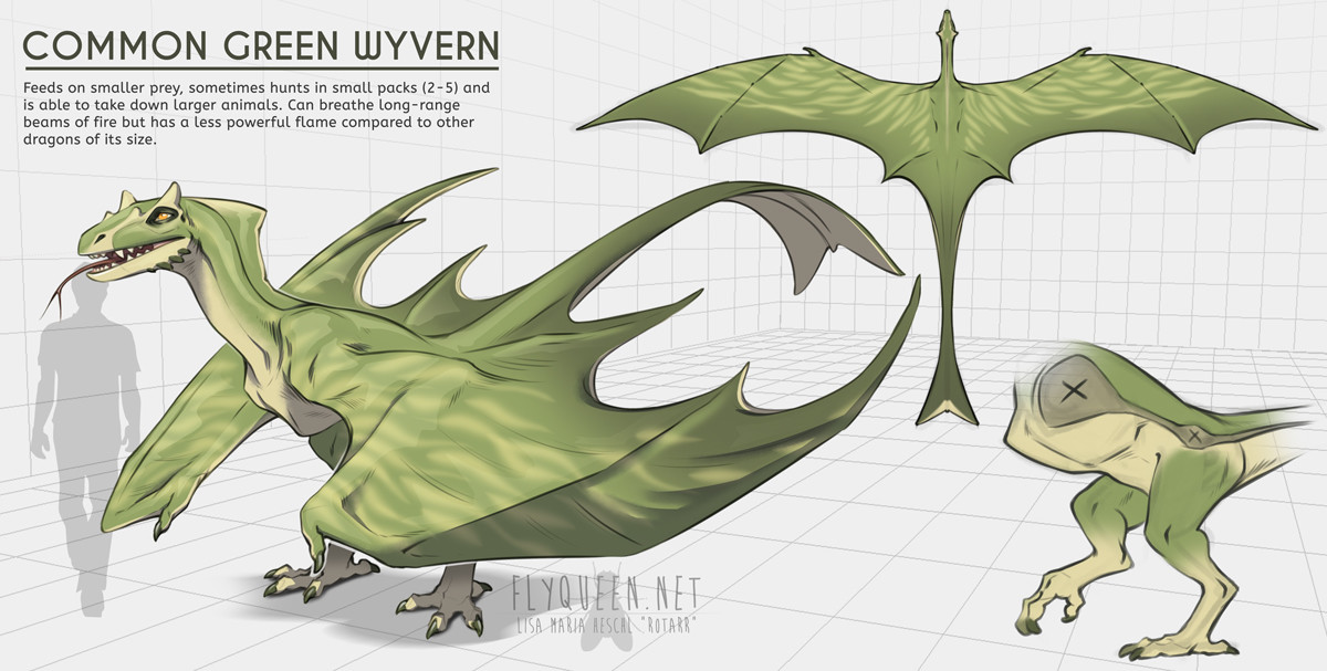 Lisa heschl 180807 green wyvern