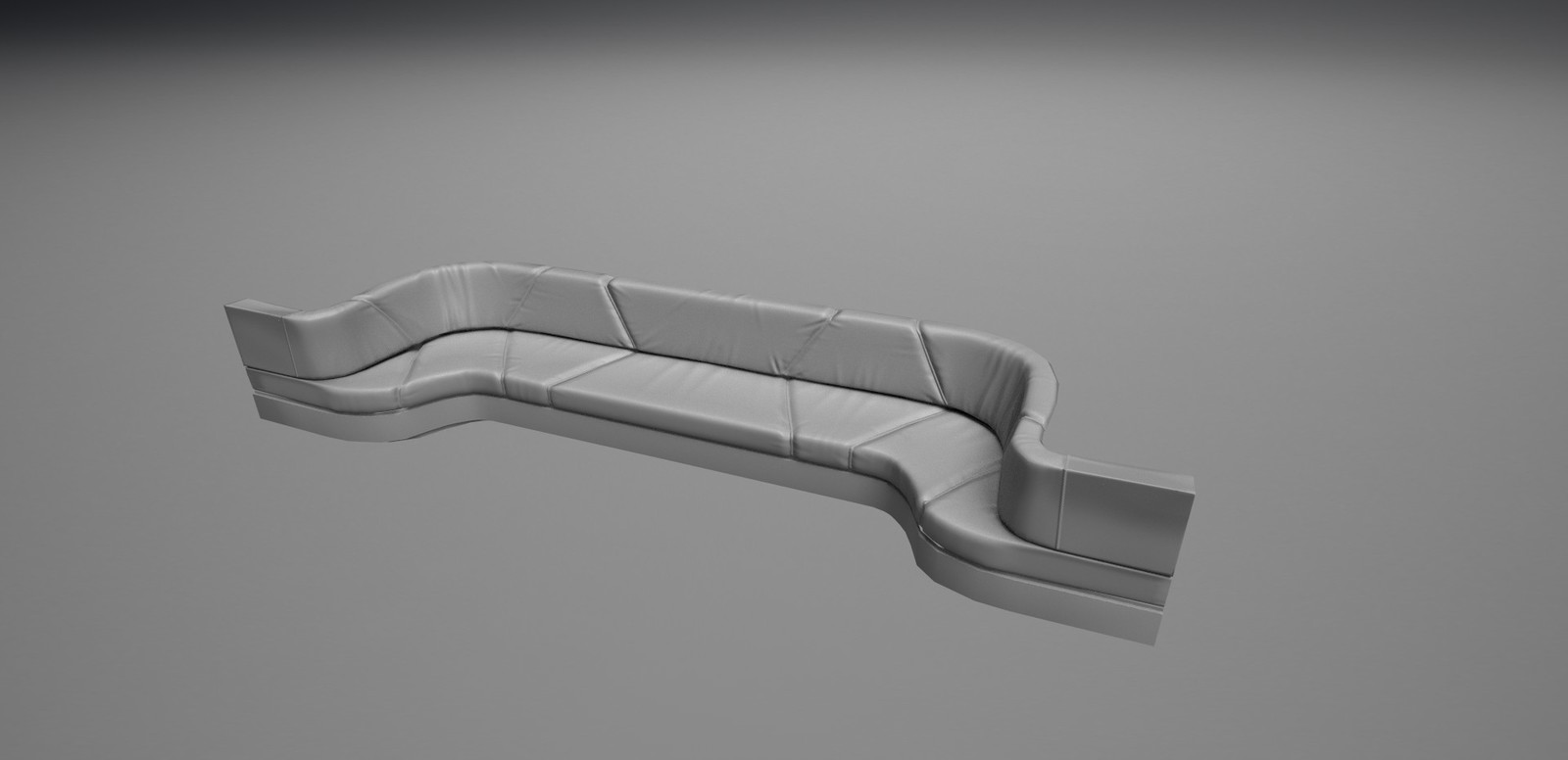 Modeled and textured a Couch for cinematic scene