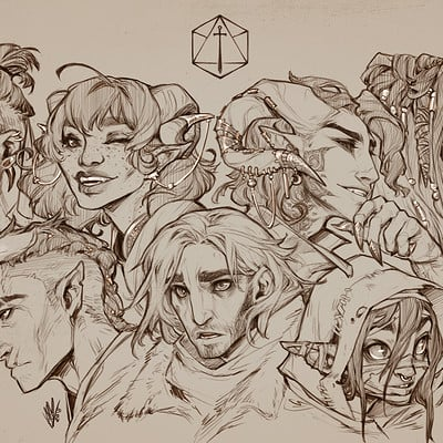 Hunter bonyun critrole fullcast